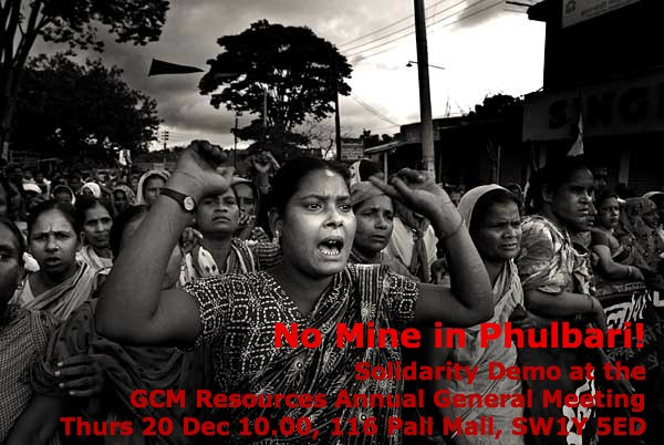 LMN call out for Phulbari Solidarity demo in London on 19 dec 2012