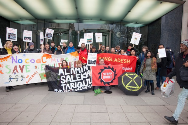 PRESS RELEASE: London Protesters Disrupted GCM'sAGM