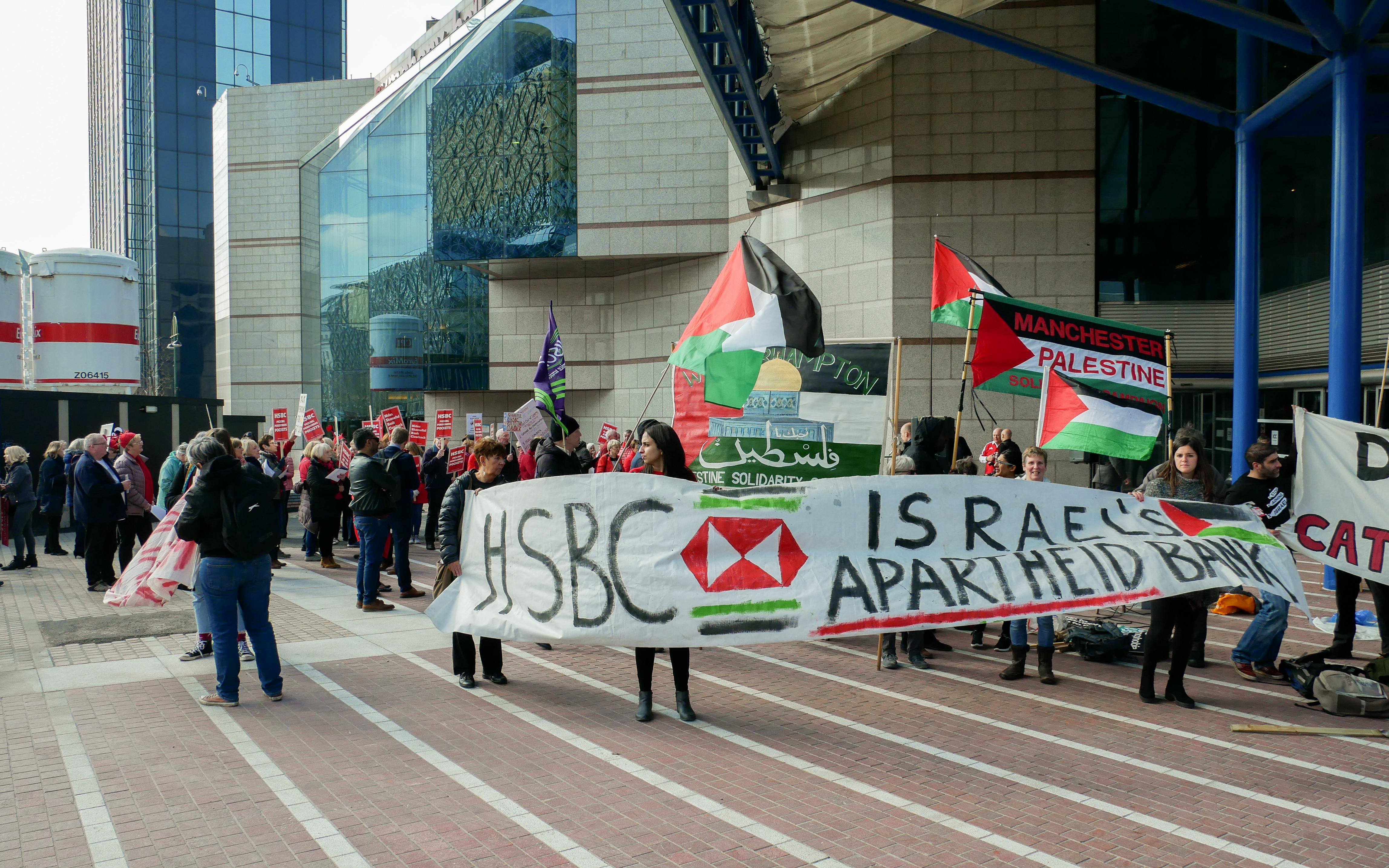 Vibrant Protests Held at HSBC AGM – Phulbari Solidarity Blog